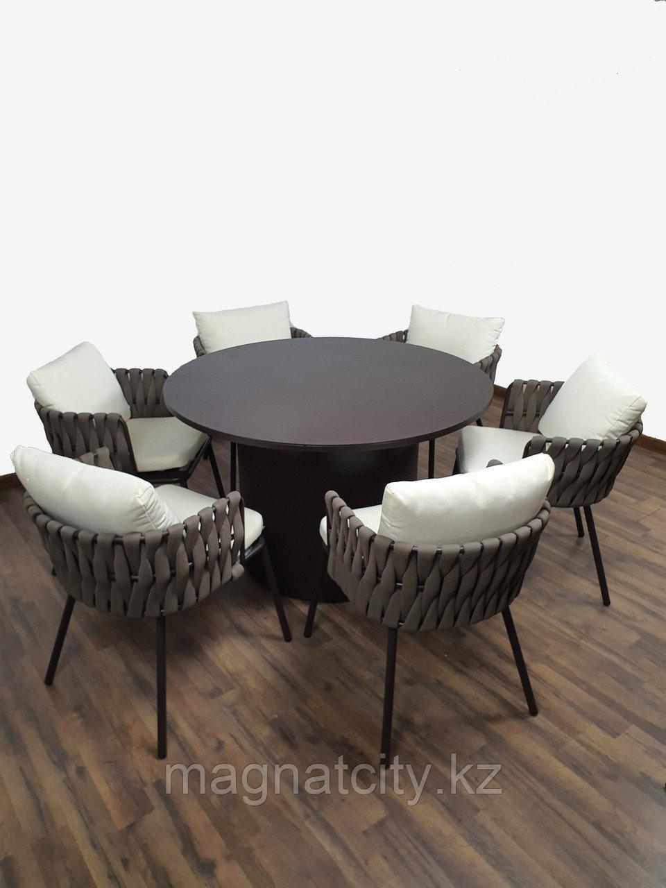 Комплект уличной мебели Дрезден (6 кресел +стол)