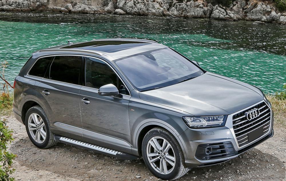 "Пороги ""Premium-Black"" Audi Q7 (2015-2019)"