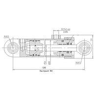 Гидроцилиндр ЦГ-80.56х900.11