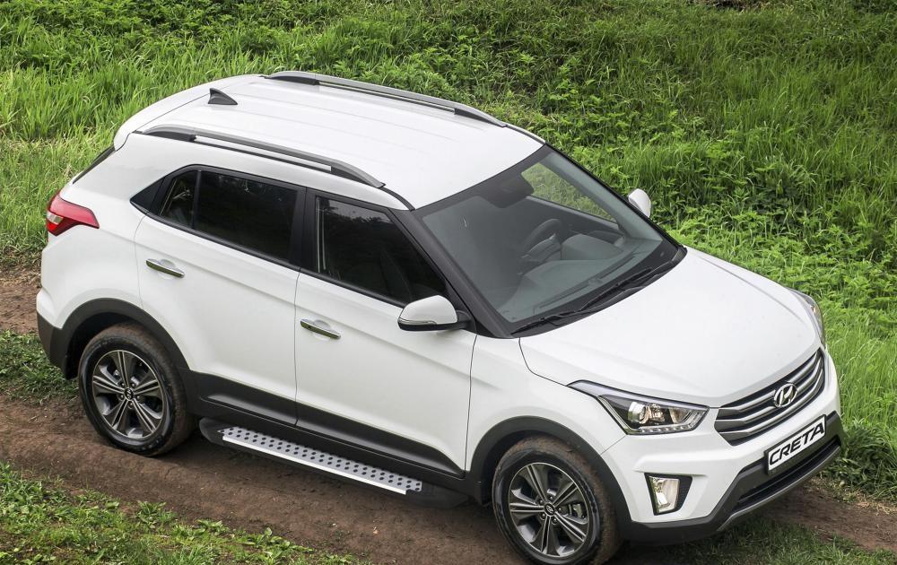 "Пороги ""Bmw-Style"" Hyundai Creta (2016-2021)"