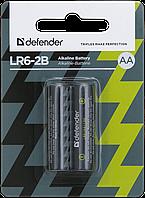 Элемент питания LR03 AAA Defender Alkaline LR03-2B - 2 штуки в блистере