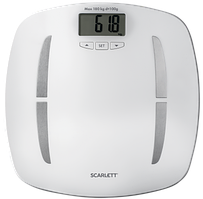 Весы напольные Scarlett SC-BS33ED80 белый