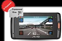 Видеорегистратор Mio MiVue C688 WiFi new + microSD 16 Gb