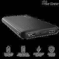 Зарядное устройство Power bank Trust Primo Ultra-thin 10000 черный