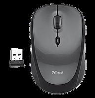 Мышь беспроводная Trust Yvi Mini черный