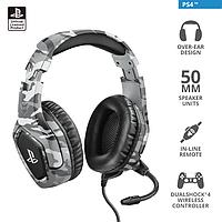 Наушники-гарнитура игровая Trust GXT 488 Forze-G PS4 серый