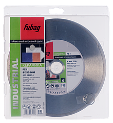 FUBAG Алмазный отрезной диск FZ-I D250 мм/ 30-25.4 мм по керамике