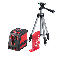 FUBAG Лазерный уровень с набором аксессуаров Crystal 10R VH Set