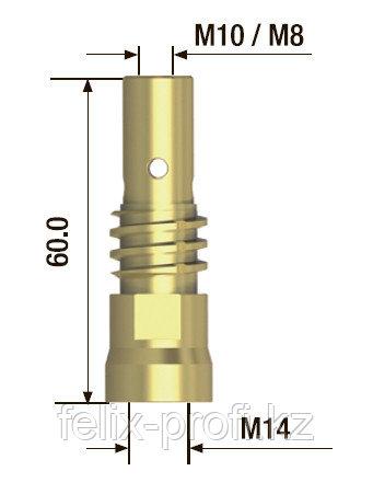 FUBAG Адаптер контактного наконечника M8х65 мм (5 шт.)