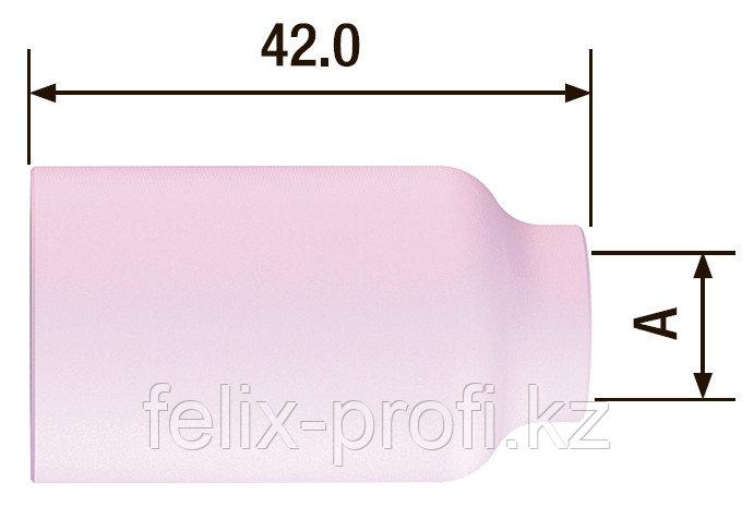 FUBAG Сопло керамическое для газовой линзы №5 ф8 FB TIG 17-18-26  (10 шт.)