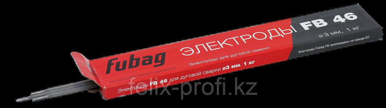 FUBAG Электрод сварочный с рутилово-целлюлозным покрытием FB 46 D3.0 мм (пачка 0.9 кг)
