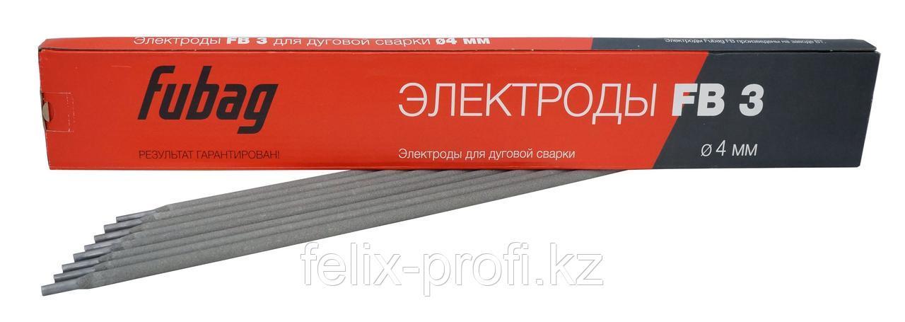 FUBAG Электрод сварочный с рутиловым покрытием FB 3 D4.0 мм (пачка 5 кг)