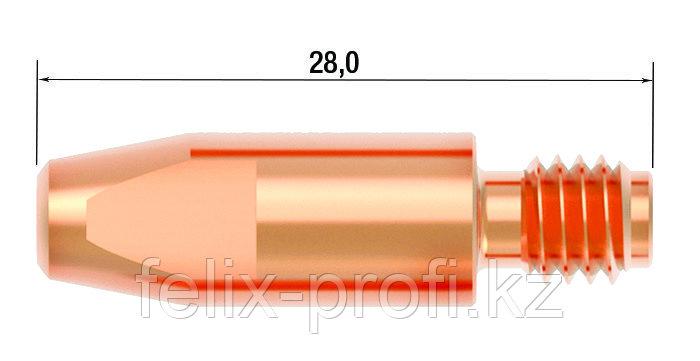 FUBAG Контактный наконечник M6х28 мм CuCrZr D=1.0 мм (25 шт.)