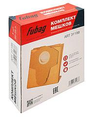 FUBAG Комплект мешков одноразовых 20-25 л для пылесосов серии WD 4SP_5 шт.