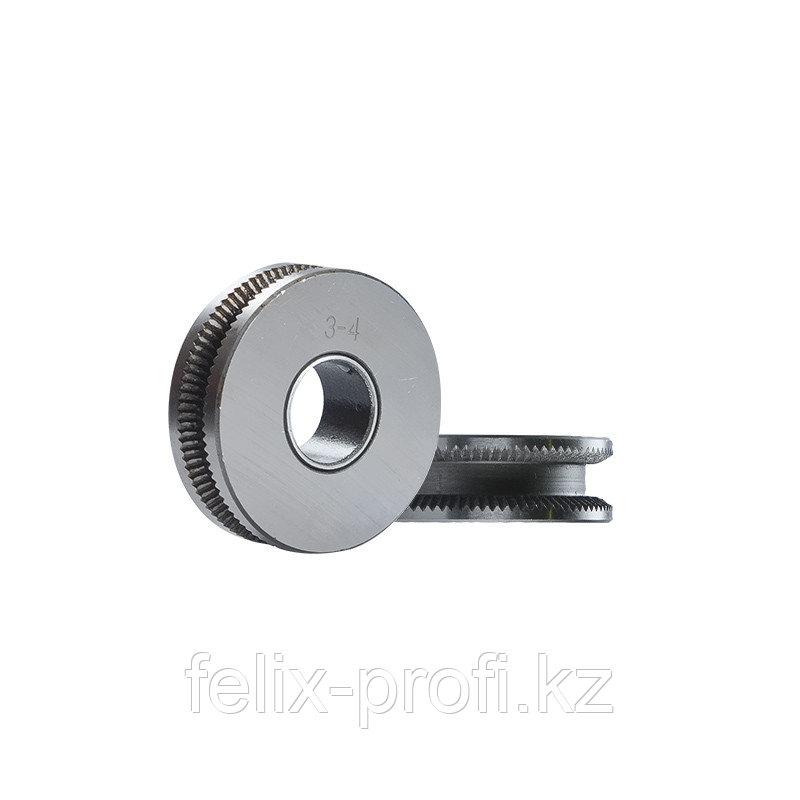 FUBAG Ролик подающий для трактора TW 630/1000/1250 для проволоки диаметром 3 и 4 мм_2 шт.