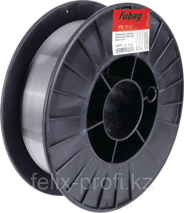 FUBAG Проволока сварочная сплошного сечения FB 70S 1.0 мм