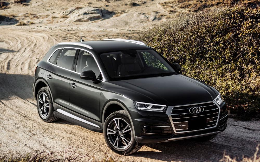 "Пороги ""Premium-Black"" Audi Q5 (2017-2019)"