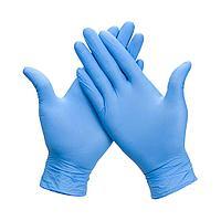 Перчатки медицинские нитриловые S