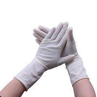 Перчатки медицинские латексные неопудренные М