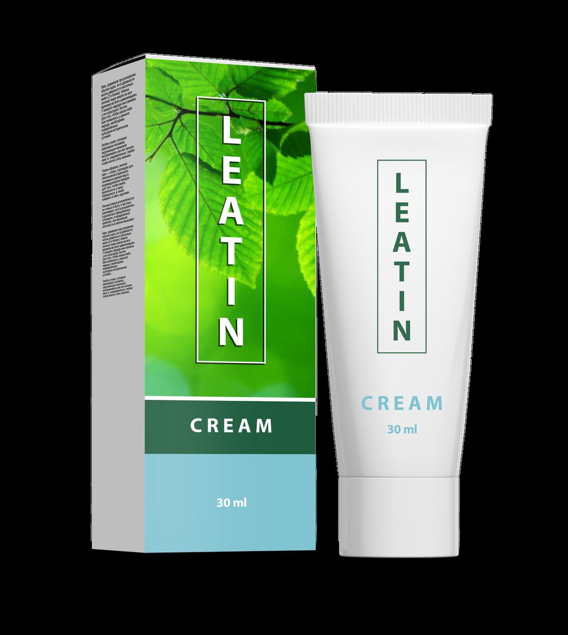 Leatin (Леатин) – крем от грибка стопы