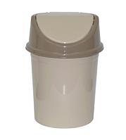 Контейнер д/мусора 14,0л, латте-капучино (Violet plast, Россия)