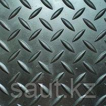 Напольное резиновое елочка, черное, фото 2