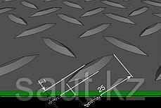 Напольное резиновое елочка, черное, фото 3