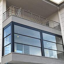 Гильотинные стекла подъемные окна