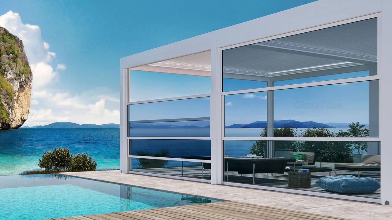 Гильотинные стекла подъемные окна - фото 3