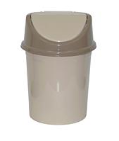 Контейнер д/мусора 4,0л, латте-капучино (Violet plast, Россия)