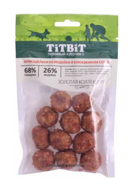 TiTBiT фрикадельки из индейки в клюквенном соусе, уп.70гр.