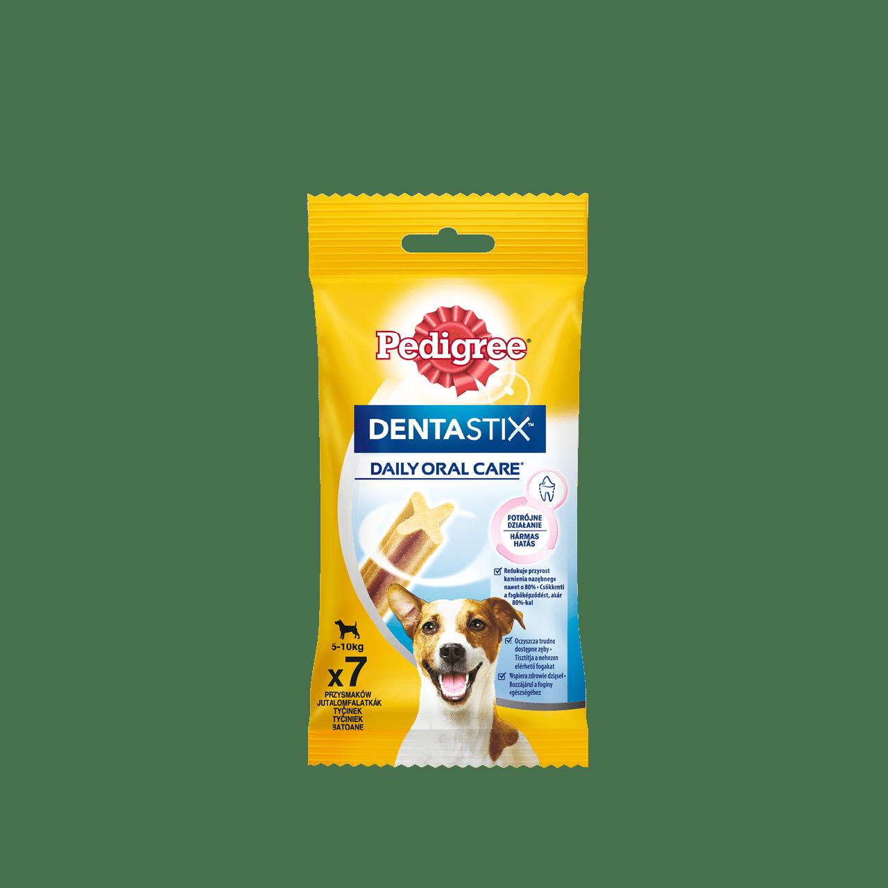 Pedegree Dentastix, для собак малых пород от 5 до 10 кг, уп.45гр.