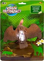 "Животные Abtoys серии ""Юный натуралист"" Гриф, термопластичная резина"