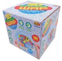 Шар интеллектуальный 3D, 100 барьеров, в коробке, Академия Игр.