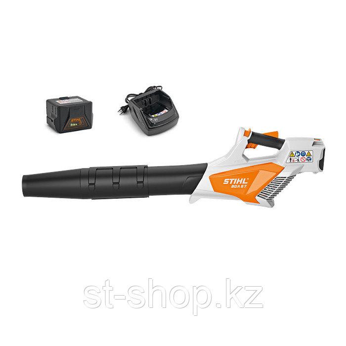 Воздуходувка аккумуляторная STIHL BGA 57 SET (с AK 20 и AL 101) 55 м/с | 620 м3/ч