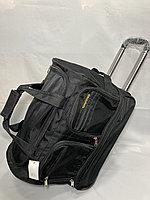 Средняя дорожная сумка на колесах Cantlor. Высота 35 см, ширина 45 см, глубина 29 см., фото 1