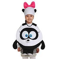 Карнавальный костюм «Панди», Смешарики, 3-5 лет, р. 26-30, рост 92-116 см