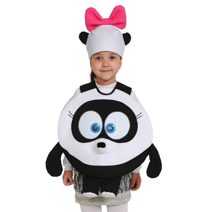 Карнавальный костюм «Панди», Смешарики, 3-5 лет, р. 26-30, рост 92-116 см - фото 1