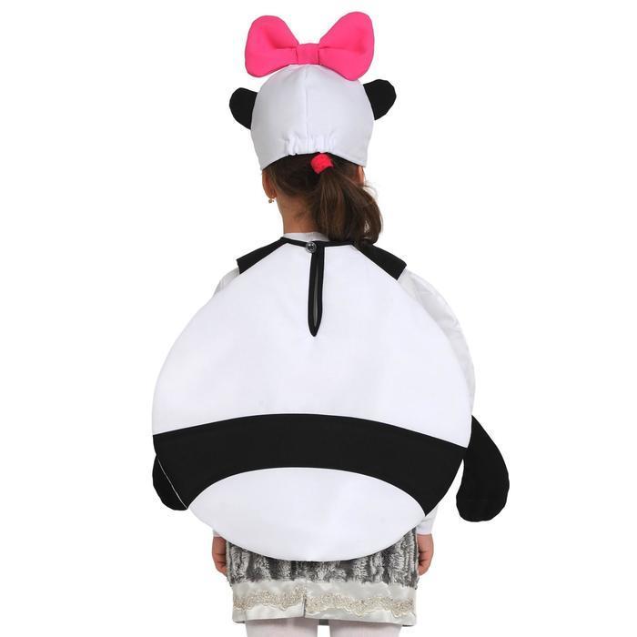 Карнавальный костюм «Панди», Смешарики, 3-5 лет, р. 26-30, рост 92-116 см - фото 3