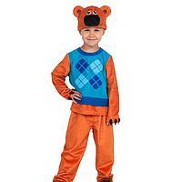 Карнавальный костюм «Кеша», серия Ми-ми-мишки, 4-5 лет, р. 28-30, рост 104-110 см