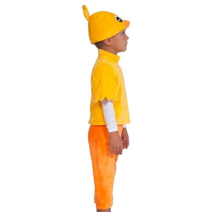 Карнавальный костюм «Цыплёнок», серия «Ми-ми-мишки», 4-5 лет, р. 28-30, рост 104-110 см - фото 2