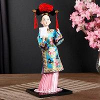 Кукла коллекционная 'Китаянка в национальном платье с письмом' 32х12,5х12,5 см