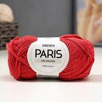 Пряжа 'Paris' 100 хлопок 75м/50гр (38 т. коралл)