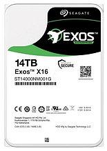 "Seagate ST14000NM001G Жесткий диск Enterprise Exos X16, 14TB 3.5"" SATA 6Gb/s 256Mb 7200rpm"