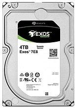 "Seagate ST4000NM003A Жесткий диск 4TB Exos 7E8 HDD 3.5"" SAS 12Gb/s 256Mb 7200rpm"