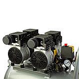 OUTSTANDING 2квт, 50л, 160 л/м, безмасленный, бесшумный, воздушный компрессор, фото 3