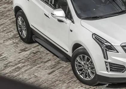 "Пороги ""Black""  Cadillac XT5 (2017-)"