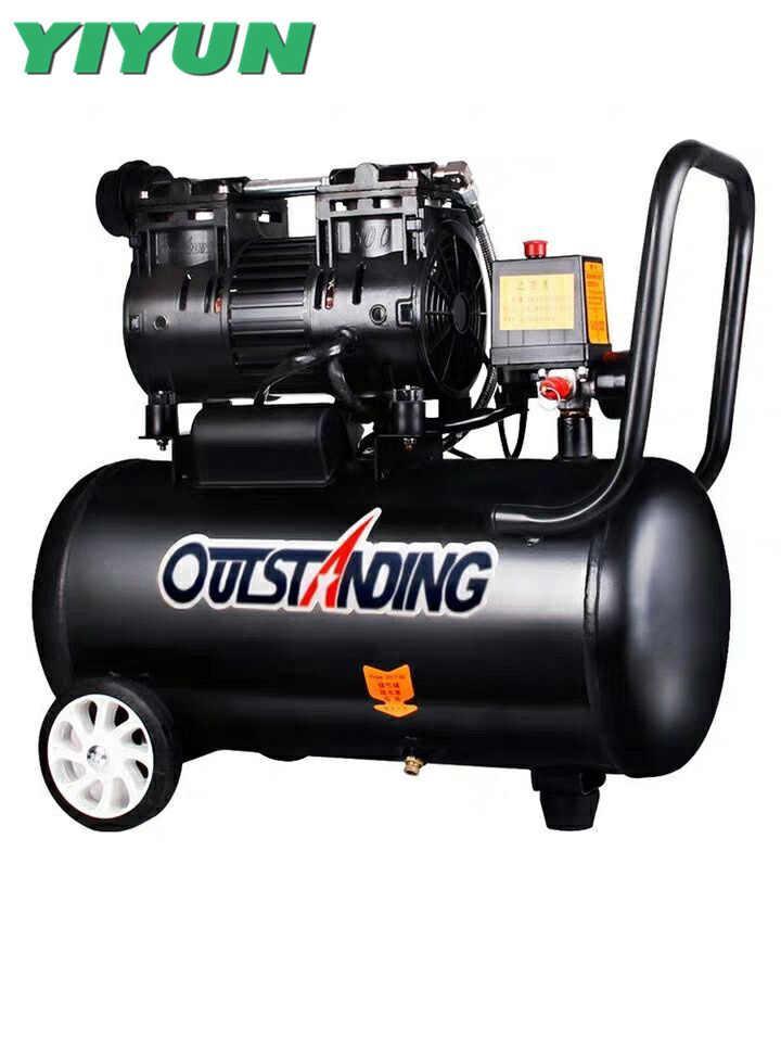 OUTSTANDING 980в, 8л, 80 л/м, бесшумный, безмасленный, воздушный компрессор