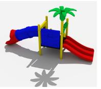 Детский игровой комплекс Слоненок №2