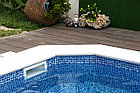 Пленка для бассейна Haogenplast NG BLUE 3D, фото 6